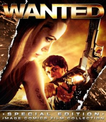 Wanted movie poster (2008) poster MOV_22ce9254