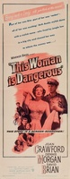 This Woman Is Dangerous movie poster (1952) picture MOV_22d75e5e