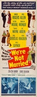 We're Not Married! movie poster (1952) picture MOV_22dec017