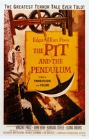 Pit and the Pendulum movie poster (1961) picture MOV_22e63531