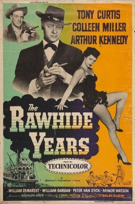 The Rawhide Years movie poster (1955) poster MOV_22e66ac0