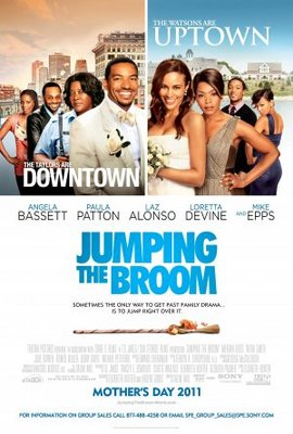 Jumping the Broom movie poster (2011) poster MOV_230be355
