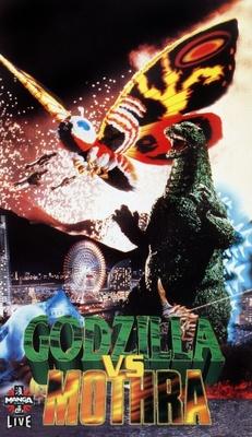 Mosura tai Gojira movie poster (1964) poster MOV_2319deeb