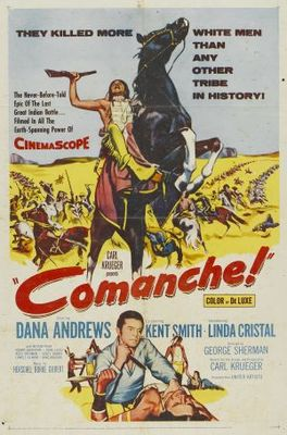 Comanche movie poster (1956) poster MOV_23254d07