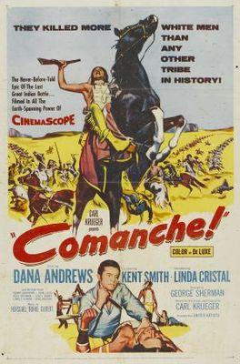 Comanche movie poster (1956) poster MOV_23254d07