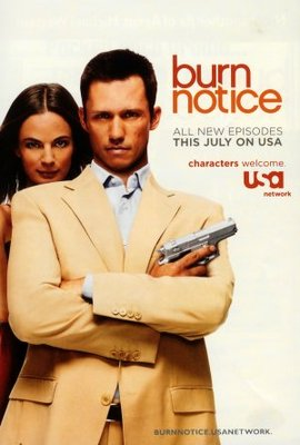 Burn Notice movie poster (2007) poster MOV_232cf776