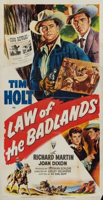 Law of the Badlands movie poster (1951) poster MOV_234b50fa