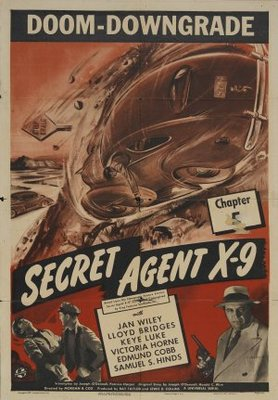Secret Agent X-9 movie poster (1945) poster MOV_23521569