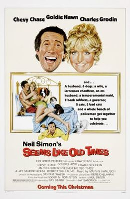 Seems Like Old Times movie poster (1980) poster MOV_235aebfe