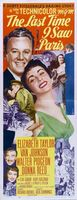 The Last Time I Saw Paris movie poster (1954) picture MOV_23615dc3
