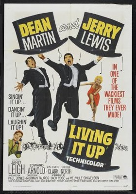Living It Up movie poster (1954) poster MOV_237d69ac