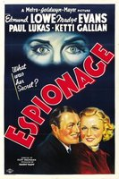 Espionage movie poster (1937) picture MOV_238b80bb