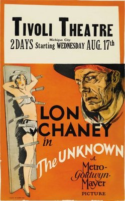 The Unknown movie poster (1927) poster MOV_23ab0af8