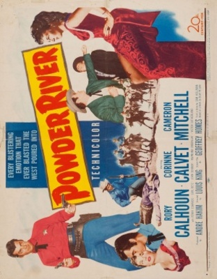 Powder River movie poster (1953) poster MOV_23cc48e1