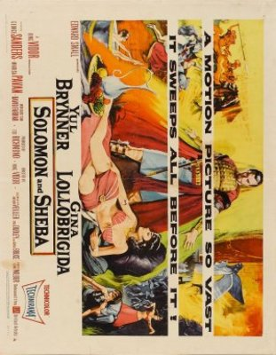 Solomon and Sheba movie poster (1959) poster MOV_23ced74c