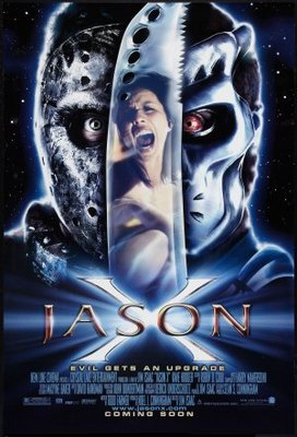 Jason X movie poster (2001) poster MOV_23e2f844