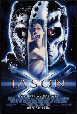 Jason X movie poster (2001) poster MOV_23e2f844