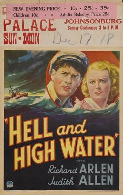 Hell and High Water movie poster (1933) poster MOV_23f1e0d9