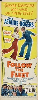 Follow the Fleet movie poster (1936) poster MOV_24021253