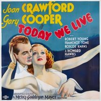 Today We Live movie poster (1933) picture MOV_2412f242