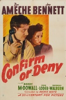 Confirm or Deny movie poster (1941) picture MOV_2419f031