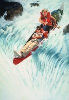 White Water Summer movie poster (1987) picture MOV_24266a58