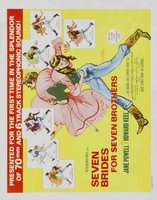 Seven Brides for Seven Brothers movie poster (1954) picture MOV_243b5723