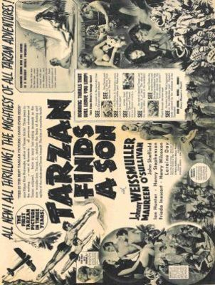 Tarzan Finds a Son! movie poster (1939) poster MOV_243def77