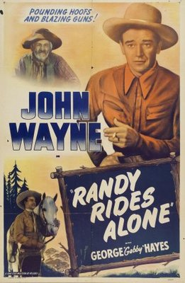 Randy Rides Alone movie poster (1934) poster MOV_2446a4b3