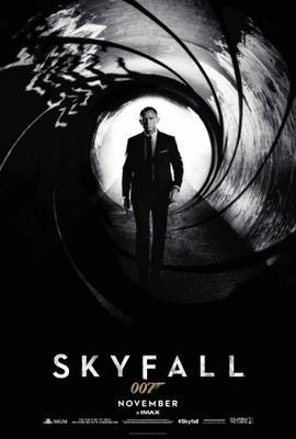 Skyfall movie poster (2012) poster MOV_24489e64