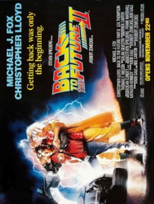 Back to the Future Part II movie poster (1989) poster MOV_2465a968