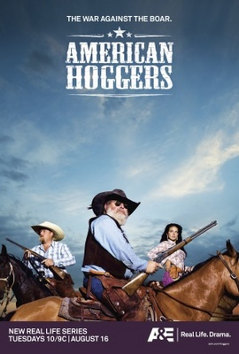 American Hoggers movie poster (2011) poster MOV_2465d6fb