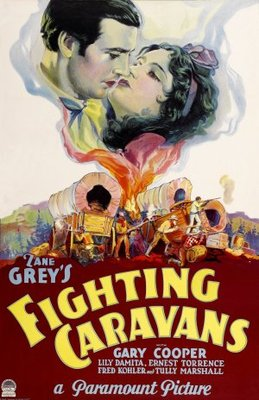 Fighting Caravans movie poster (1931) poster MOV_24801fdb