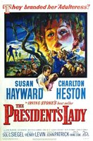The President's Lady movie poster (1953) picture MOV_24891dfa