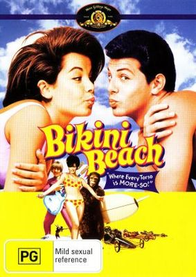 Bikini Beach movie poster (1964) poster MOV_2494dab2