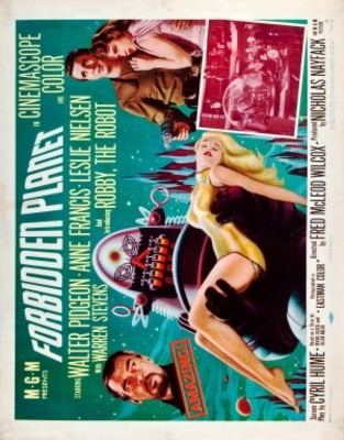 Forbidden Planet movie poster (1956) poster MOV_249b2131