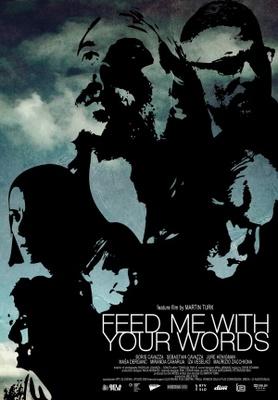 Nahrani me z besedami movie poster (2012) poster MOV_24aca63d