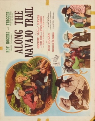 Along the Navajo Trail movie poster (1945) poster MOV_24b9ed44