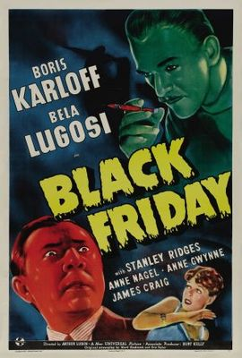 Black Friday movie poster (1940) poster MOV_24bb42e7