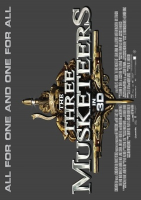 The Three Musketeers movie poster (2011) poster MOV_24d02b8f
