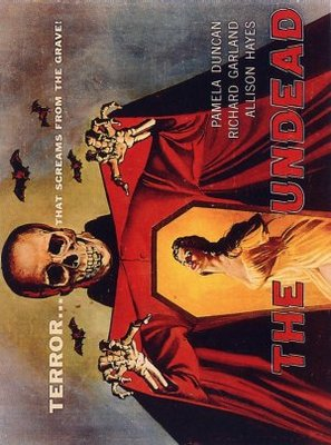 The Undead movie poster (1957) poster MOV_24ef8b4a