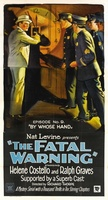 The Fatal Warning movie poster (1929) picture MOV_24f8b0a2