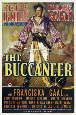 The Buccaneer movie poster (1938) poster MOV_250bb775