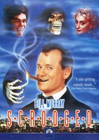 Scrooged movie poster (1988) picture MOV_25286e80