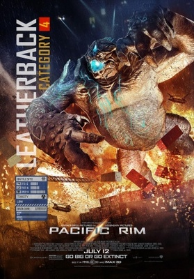 Pacific Rim movie poster (2013) poster MOV_254b9898