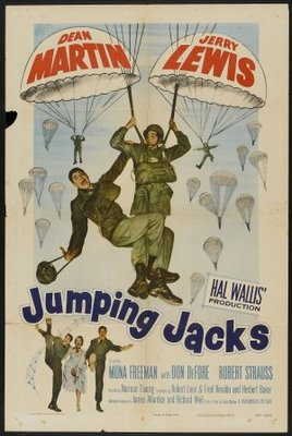 Jumping Jacks movie poster (1952) poster MOV_255c9cdf