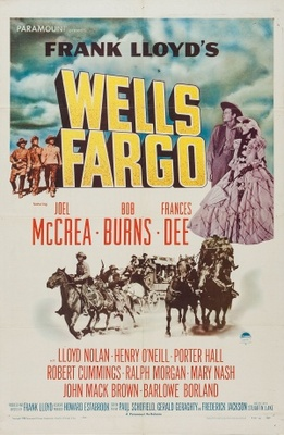Wells Fargo movie poster (1937) poster MOV_255f822c