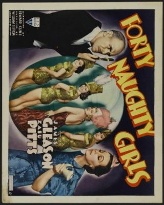 Forty Naughty Girls movie poster (1937) poster MOV_25618c18