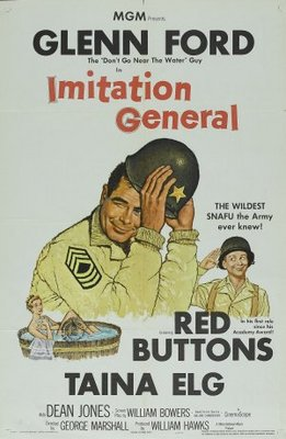 Imitation General movie poster (1958) poster MOV_256a654f
