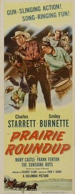Prairie Roundup movie poster (1951) poster MOV_256cf056